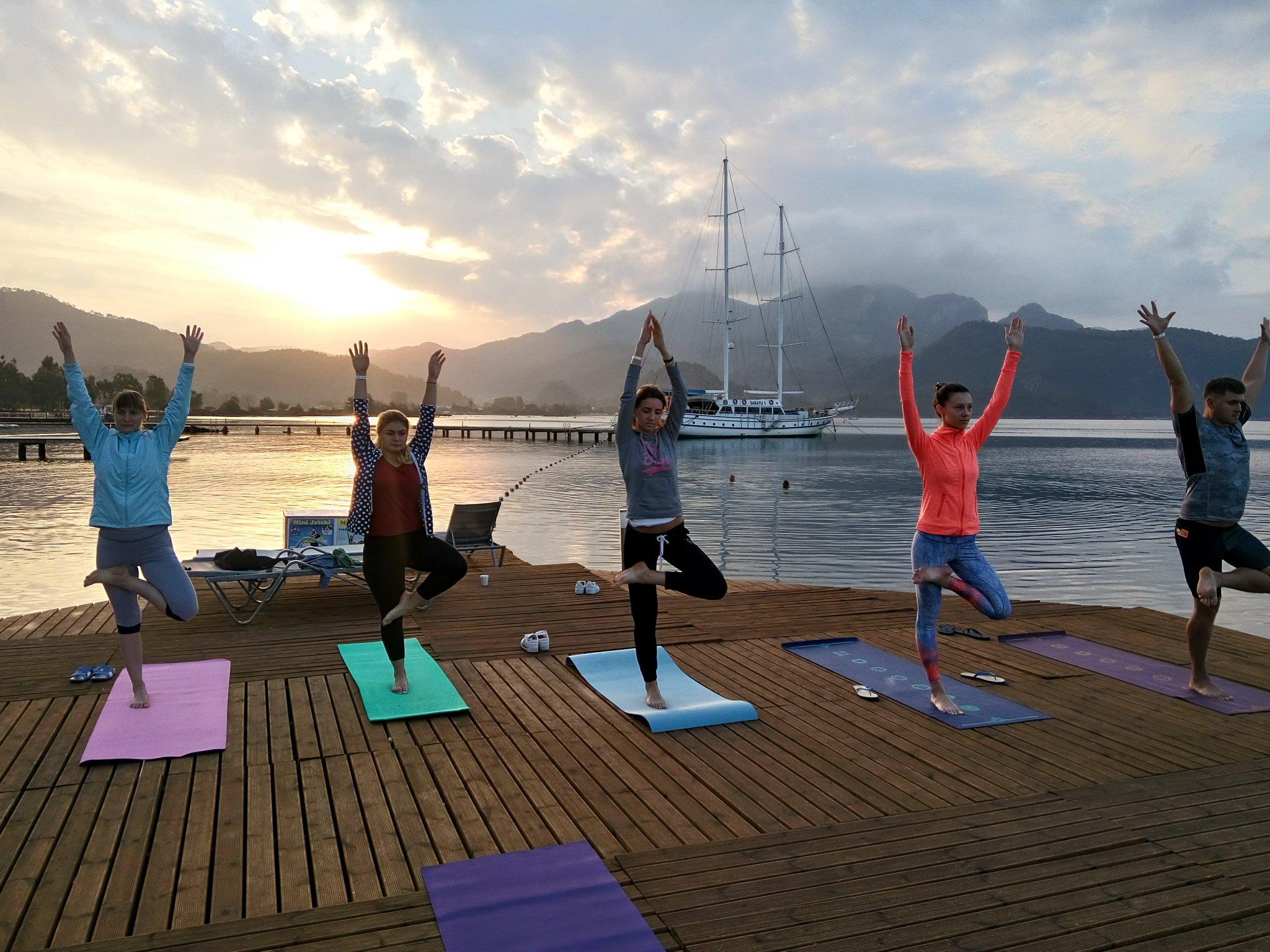 Весенний йога семинар 2018 — Айя Напа, Кипр